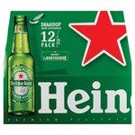 Heineken Pils mono 12-pack.