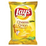 Lays Chips cheese   onion.