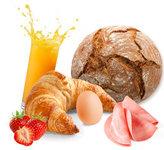 Ontbijt in de bungalow