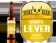 Hert bier dorps leven