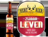 Hert bier zwaar leven