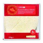 Flour tortilla wraps