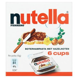 Nutella 6 cups