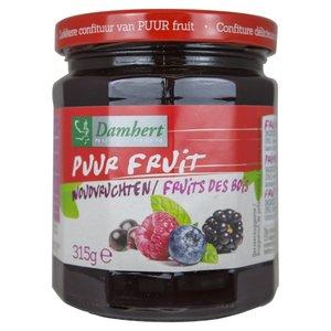 Puur fruit confituur woudvruchten