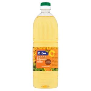 Bio zonnebloemolie